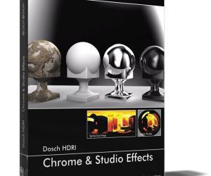 《133个各类反射效果或摄影棚布光设置效果的HDRI》(Dosch HDRI: Chrome & Studio Effects)[压缩包]