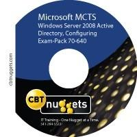 《CBT NUGGETS 考试教程》(Exam-Pack 70-640: Windows Server 2008 Active Directory, Confi