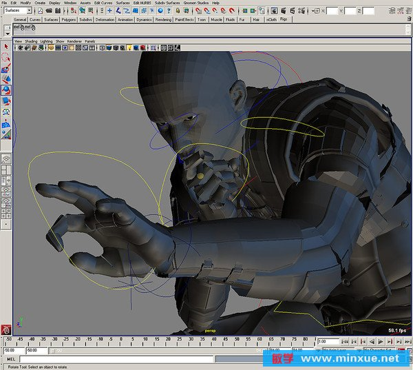 动作和特写动画 Gnomon Maya Action and Close up Animation Maya
