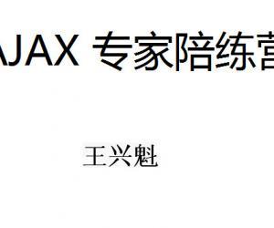 """《AJAX 专家""""培""""练营 视频》AVI[压缩包]"""