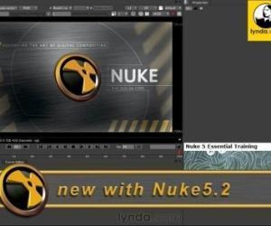 《NUKE 5入门教程》(Nuke 5 Essential Training)[光盘镜像]