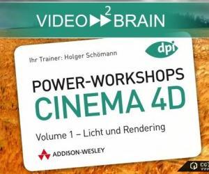 《麦克森》(Video2Brain Power-WorkShops For CINEMA 4D R11 Vol.01 )[光盘镜像]
