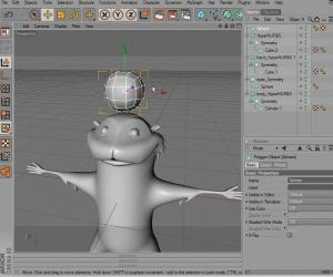 《CINEMA 4D卡通角色建模教程》(Digtal Tutors Creating Cartoon Characters in CINEMA 4D )[光盘镜