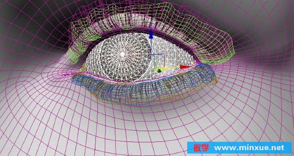Maya和Photoshop创建真实感眼睛教程 [11]