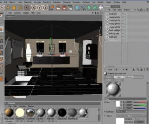 《CINEMA 4D室内渲染教程》(Digital Tutors Rendering Interiors in CINEMA 4D )[压缩包]