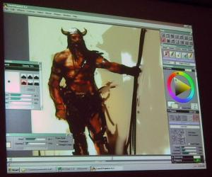 《GNOMON半人马绘制教程 8月31日更新》(GNOMON.Painter.IX.Painting.the.Centaur.with.Justin.Sweet