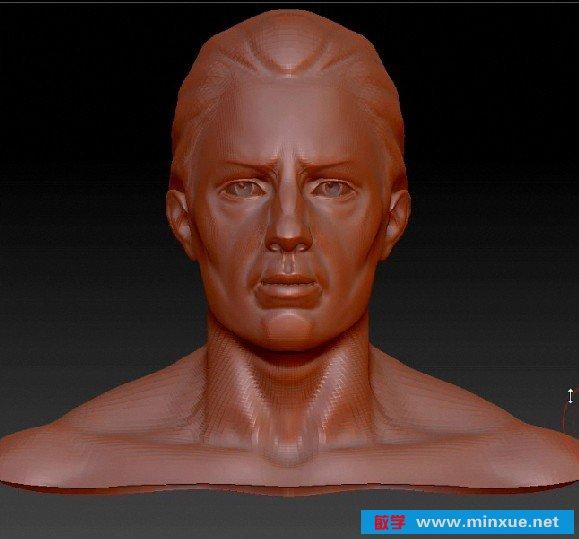 《ZBrush逼真教程皱纹人物雕刻面部》(TheGni6遥控器操作说明图片