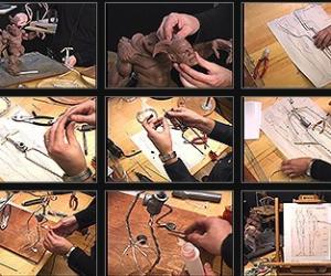 《Gnomon出品角色雕刻教程系列一》(The Gnomon Workshop Sculpture 1 The Character Armature)[光盘镜像