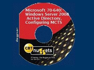 《微软认证考试:Windows Server 2008培训视频教程》(CBT Nuggets Microsoft 70-640: Windows Server