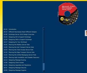 《CBT.Nuggets:微软70-663: PRO Exchange Server 2010认证考试辅导教程》(CBT.Nuggets Microsoft.7