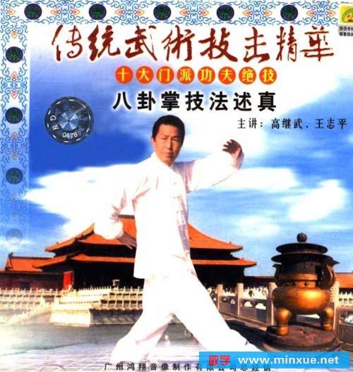 八卦掌技法述真 北京市青少年音像出版社