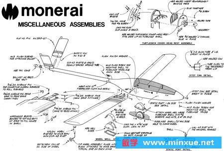 《自制飞机图纸》(hand-built.aircraft.drawings)[压缩包]