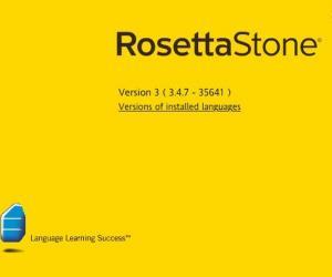 《罗塞塔石碑外语学习软件 v3.4.7》多语种[安装包]