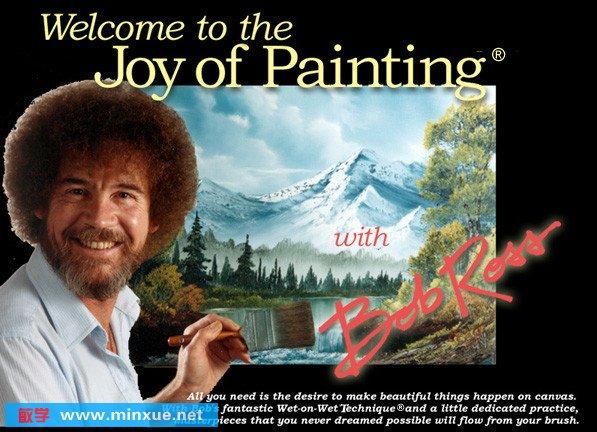 《艺术大师风景油画经典教程》(bob ross the joy of