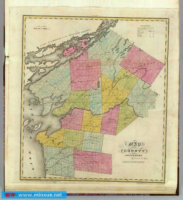 《1829年《美国纽约州地图集》[0103]》
