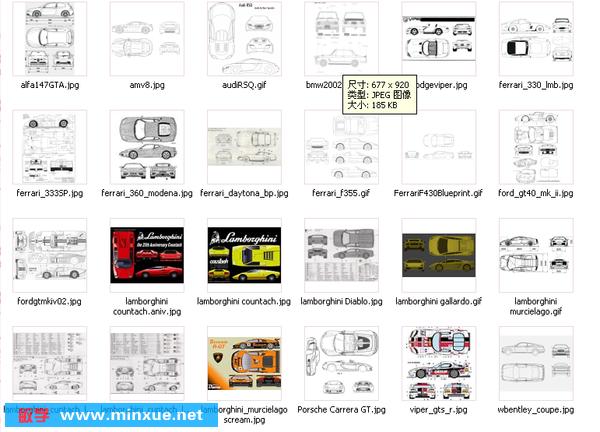 3dsmax maya三维建模软件汽车建模精品图纸 autodesk 3高清图片