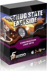 《P5Audio出品亚特兰大城市音乐素材》(P5Audio Thug State Eastside Loop Sets WAV DVDR)[光盘镜像]