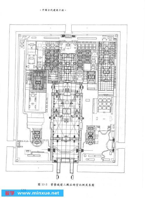 中国古代建筑史 中国古代城市规划