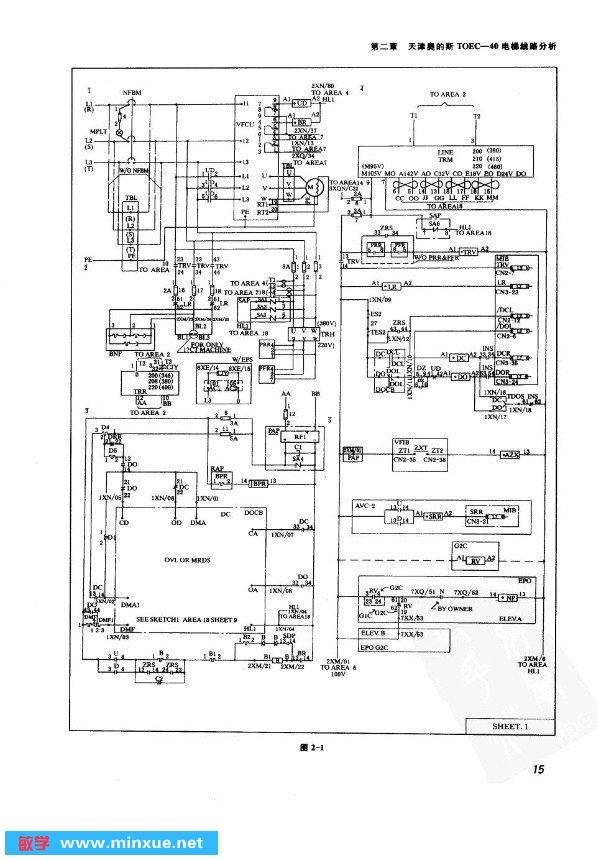 《电梯电路图集与分析》(河南省现代电梯有限公司)版