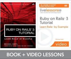 《Ruby on Rails 3 网络编程视频教程》(Ruby on Rails 3 Tutorial LiveLessons Bundle)[光盘镜像]
