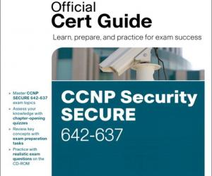 《思科CCNP安全认证642-637 官方指南》(CCNP Security Secure 642-637 Official Cert Guide)英文文字版[