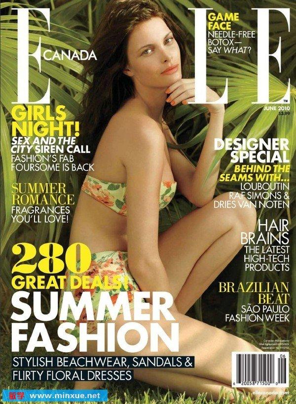 《加拿大版时尚杂志》(elle)更新2010年10月[pdf]