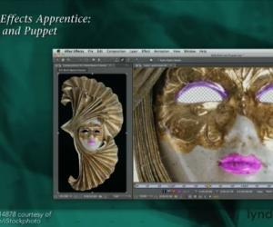 《After Effects系列视频教程第13部:绘画与木偶动画工具》