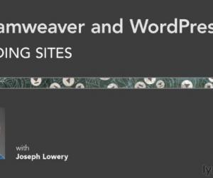 《Dreamweaver搭建基于WordPress的网站视频教程》
