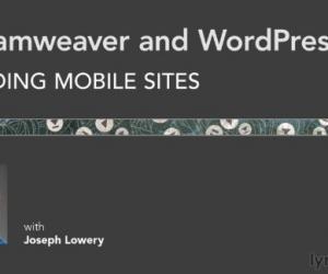 《Dreamweaver搭建基于WordPress的移动设备网站视频教程》