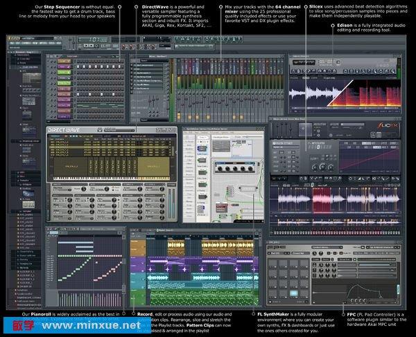《虚拟音乐工作室软件》(Image-Line.FL.Studio.ASSiGN.Edition)v9.8.0[压缩包]