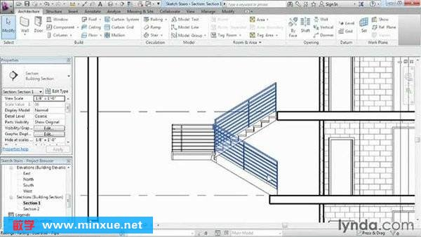 《AutoCAD Revit Architecture 2013基础教程》(Lynda Revit Architecture 2013 Essential Training)[光盘镜像]