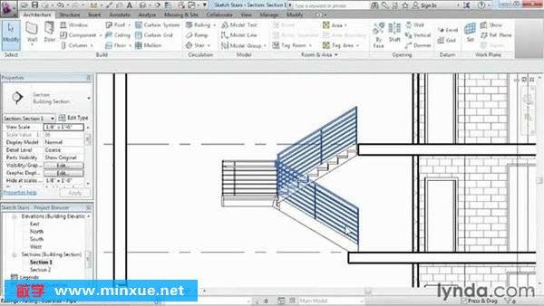 《AutoCAD Revit Architecture 2013基础教程》(Lynda Revit Architecture 2013 Essential Training)[光盘镜像]