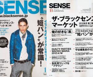 《《Sense》潮男系日本原版杂志》更新至2012年12月全年
