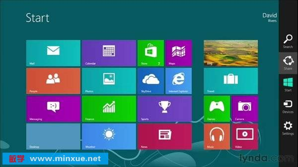 《Windows 8 基础教程》(Lynda.com Windows 8 Essential Training)[光盘镜像]