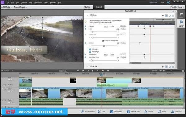 《Adobe Premiere Elements 11视频编辑软件教程》(Lynda.com Up and Running with Premiere Elements 11)[光盘镜像]