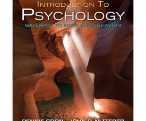 《心理学导论:思想与行为的认知之路》第12版