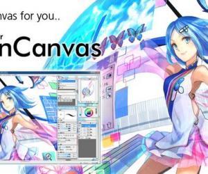 《CG手绘软件》(OpenCanvas)v5.5.10[压缩包]