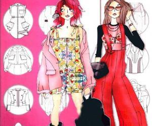《流行时装设计手册  少女服装设计》全彩版[PDF]
