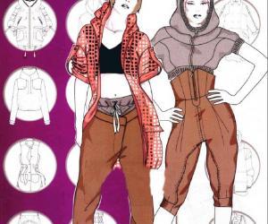 《流行时装设计手册 女士服装设计》全彩版[PDF]