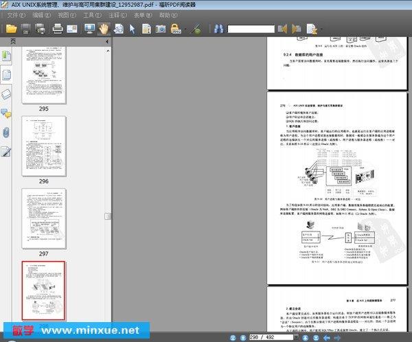 unix系统管理,维护与高可用集群建设》扫描版