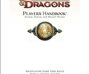 《龙与地下城玩家手册第4版2008》