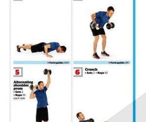 《男士健身美国完全指南哑铃训练2011》影印版[PDF]