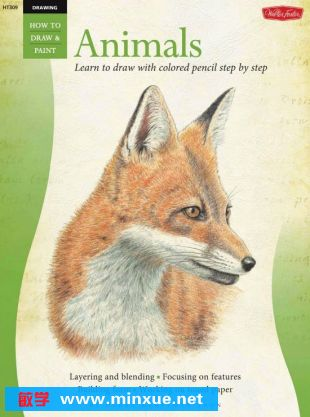 彩色铅笔画 动物篇 ┊debra kauffman yanun 预览图; 彩色铅笔画(动物