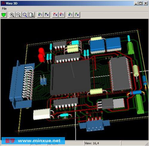 《电路图/电路板设计软件pcb制作》20090216