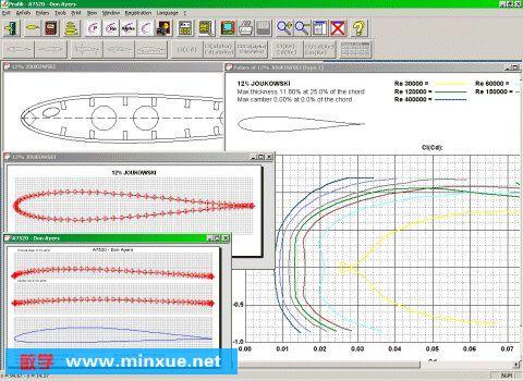 《飞机翼型设计软件》v2.30a[压缩包]