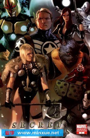秘密复仇者#1 SecretAvengers#1 Marvel