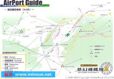 《梦幻飞机场2之资料篇:关西机场》附关西机场平面图