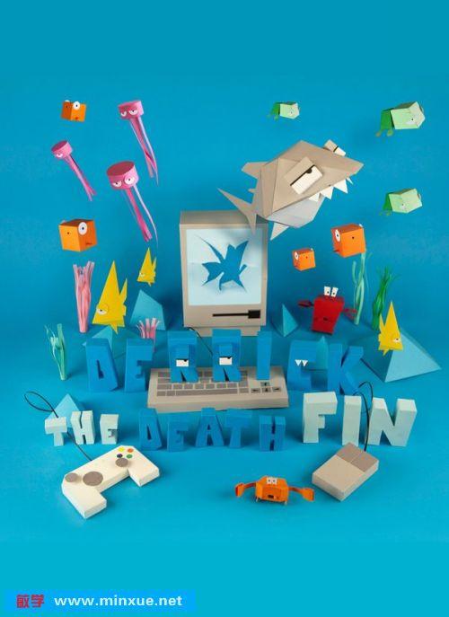 《折纸鲨鱼》[光盘镜像]