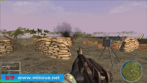 游戏画面虽然不能和孤岛惊魂这样的游戏相比较