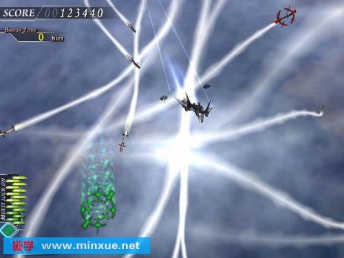 """这款超华丽又精致的飞机射击游戏最大特色就莫过於它那特殊的""""变换"""